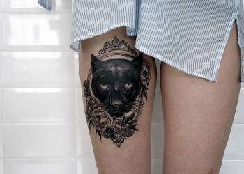 Татуировки животных: эскизы и значения