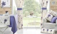 Текстиль для кухни сочетание штор и скатерти