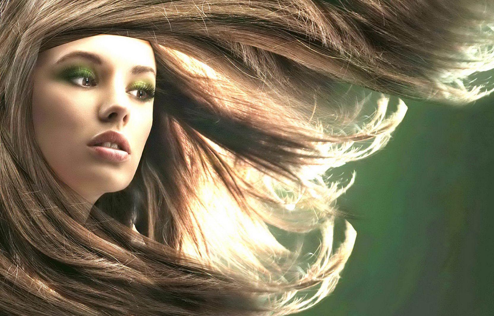Ухоженные волосы - фотография