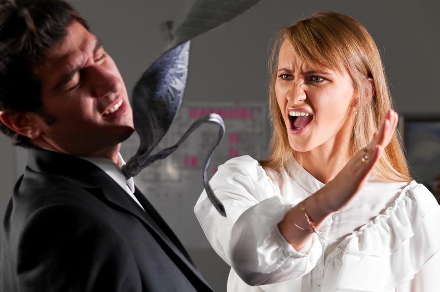 Агрессия в доме