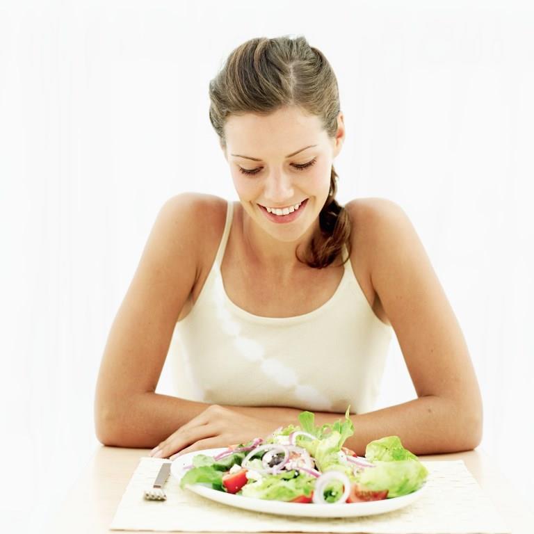 Девушка и диета