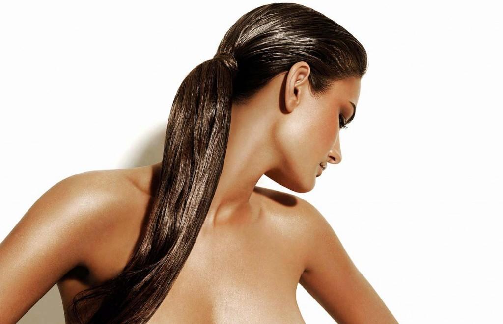 Увлажняем волосы