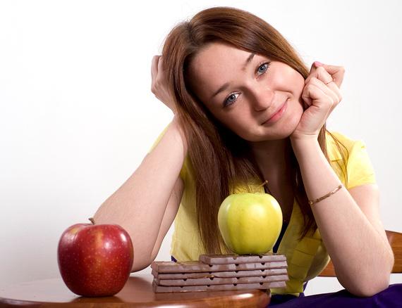 Едим шоколад и худеем на 3кг в день