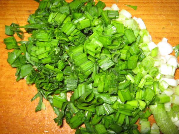 Рецепт: зеленый борщ с рисом