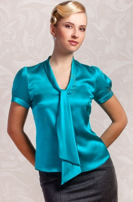 Летящие и воздушные блузки