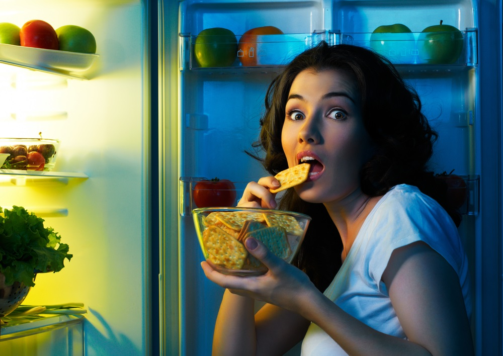 Не стоит кушать по ночам!