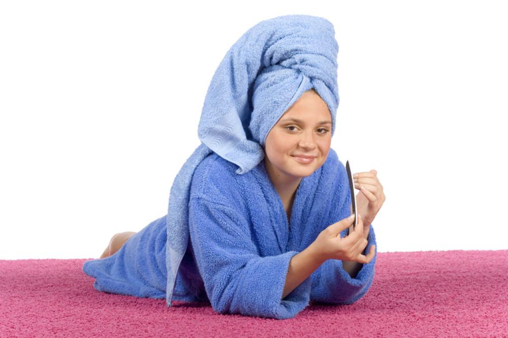 Полотенце после мытья головы