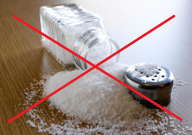 Никакой соли!