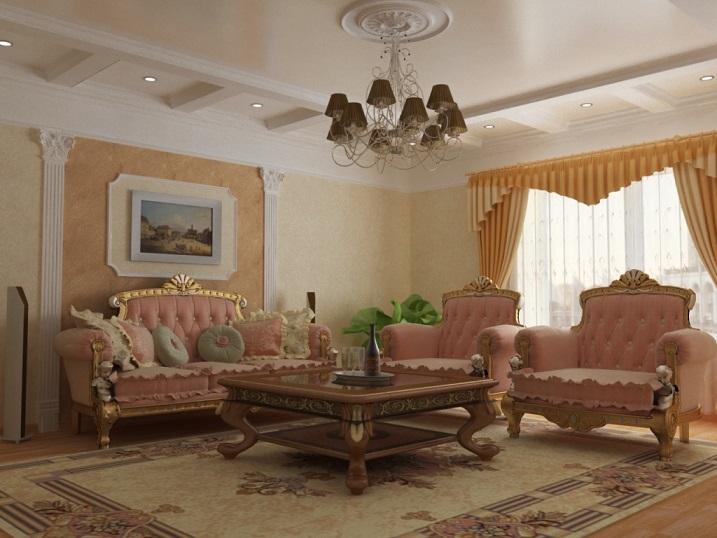 Плавные формы мебели