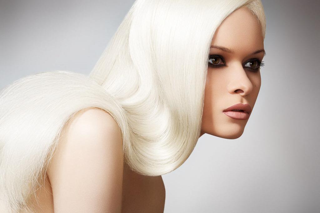 Блондинка без желтизны