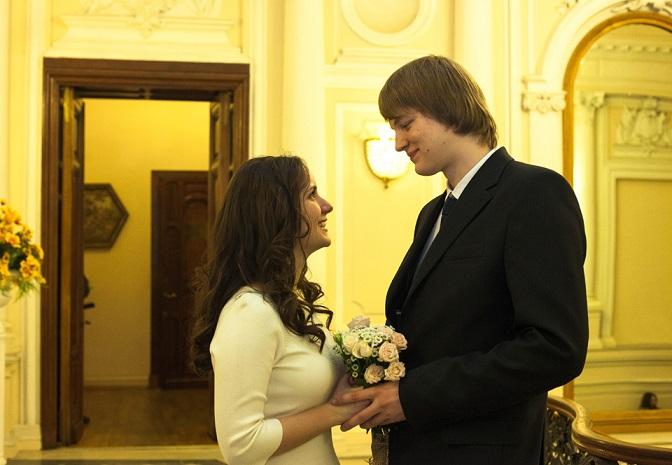 Замечательное свадебное фото