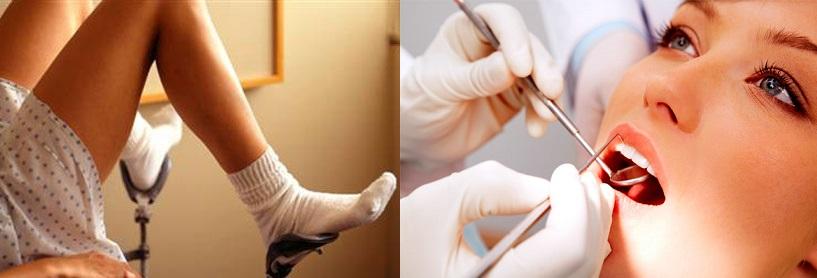 Гинеколог и стоматолог