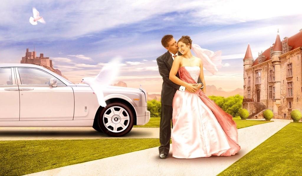 Лого типичного свадебного агенства