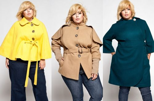 Полные девушки в пальто 2