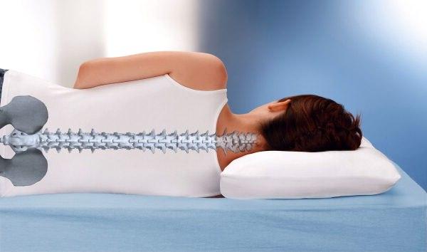 Действие ортопедической подушки