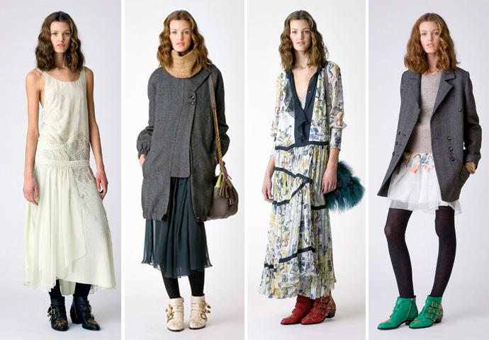 Женские ботинки с платьем