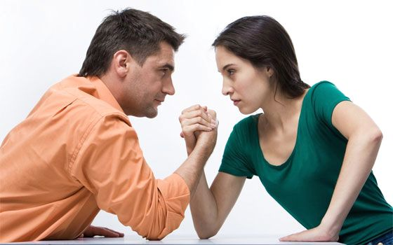 man-and-woman-struggling