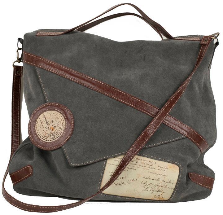 Дизайнерская сумка-мешок