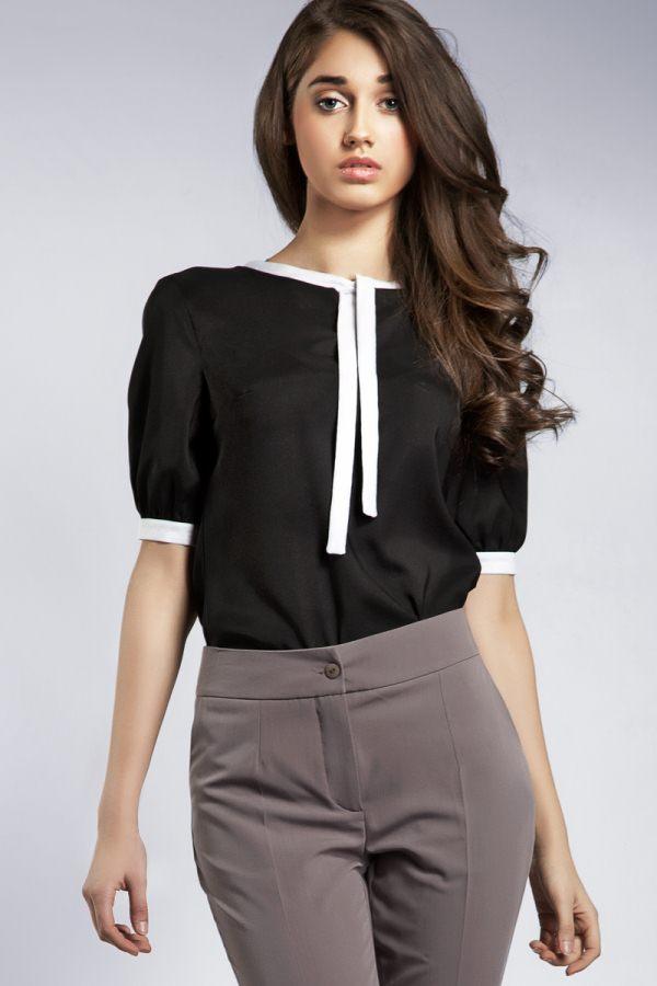 Черная блузка