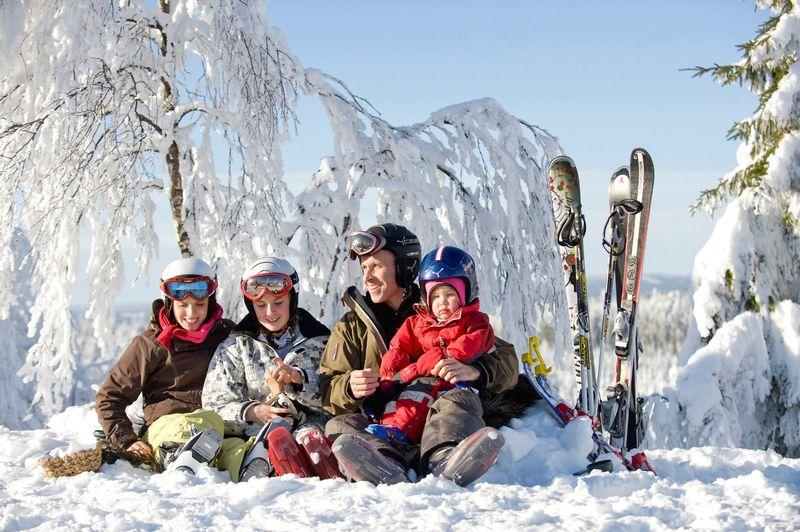 Отпуск в горнолыжном курорте