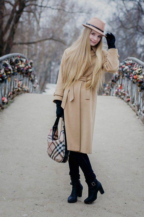 С чем носить зимние ботильоны