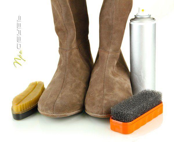 Как ухаживать за замшевой обувью?