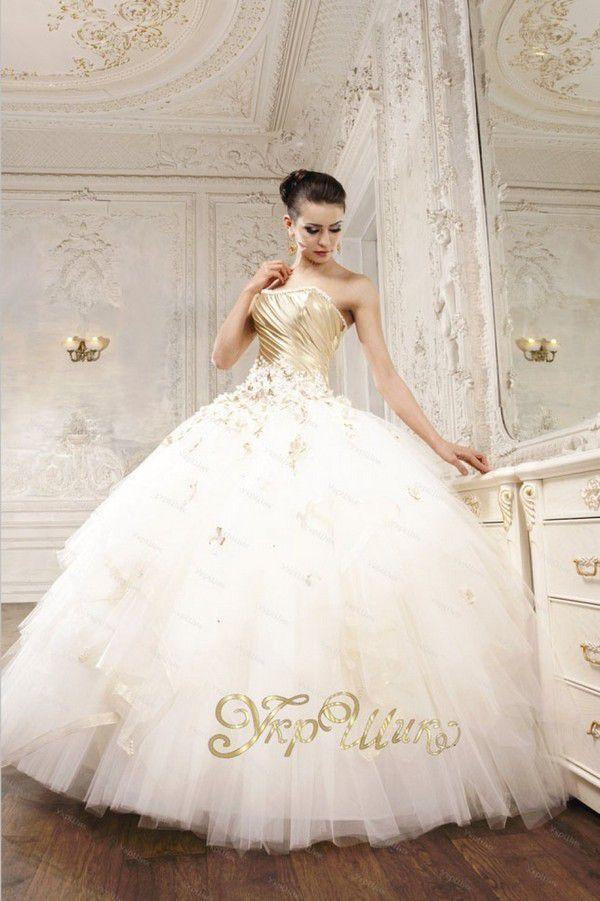 Как сделать свадебное платье пышнее?