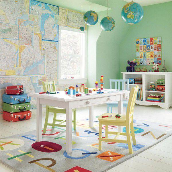 Красивые ковры для детской комнаты