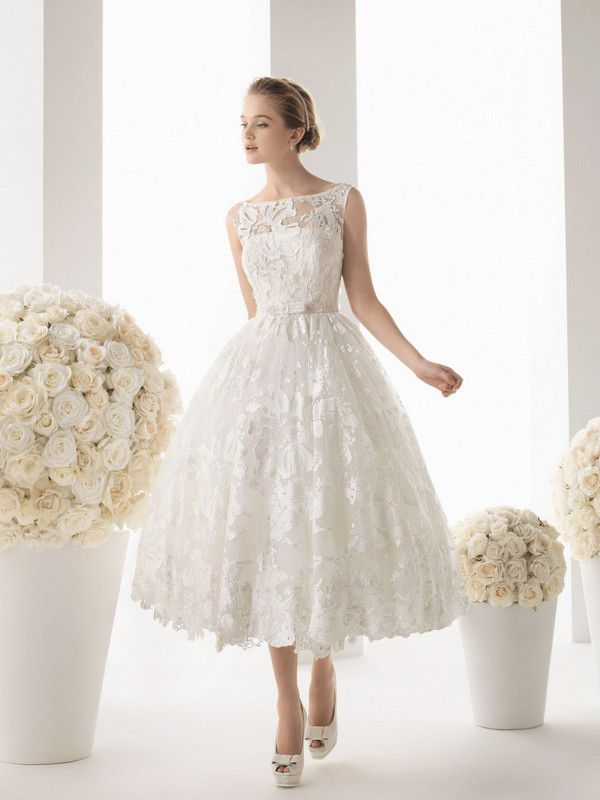 Маленькое белое платье-2015