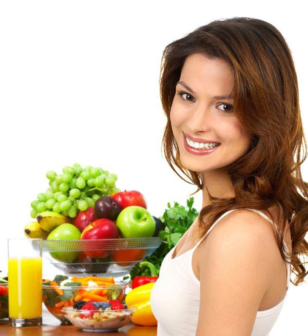 Весенняя диета для лица