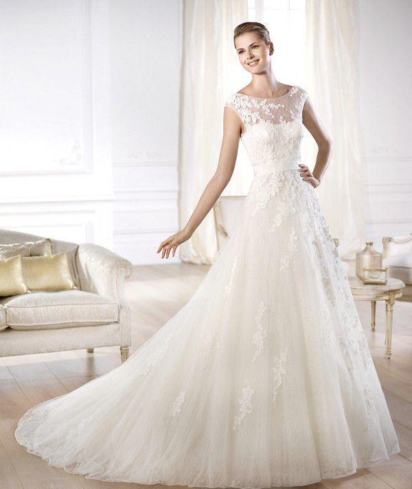 Модные тенденции свадебных нарядов 2015 года: прозрачная утонченность