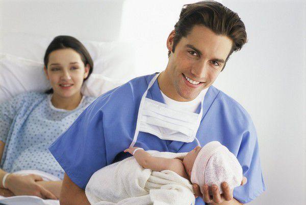 Муж при родах