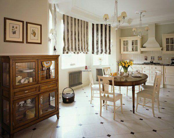 Дизайн кухни в английском стиле