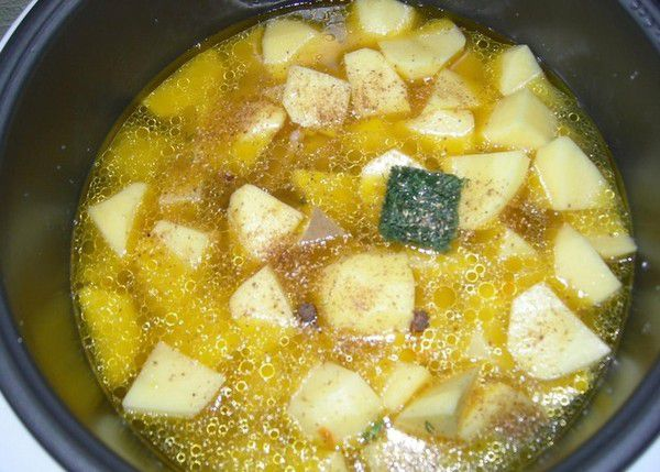 Картошка в мультиварке - рецепт с фотографиями