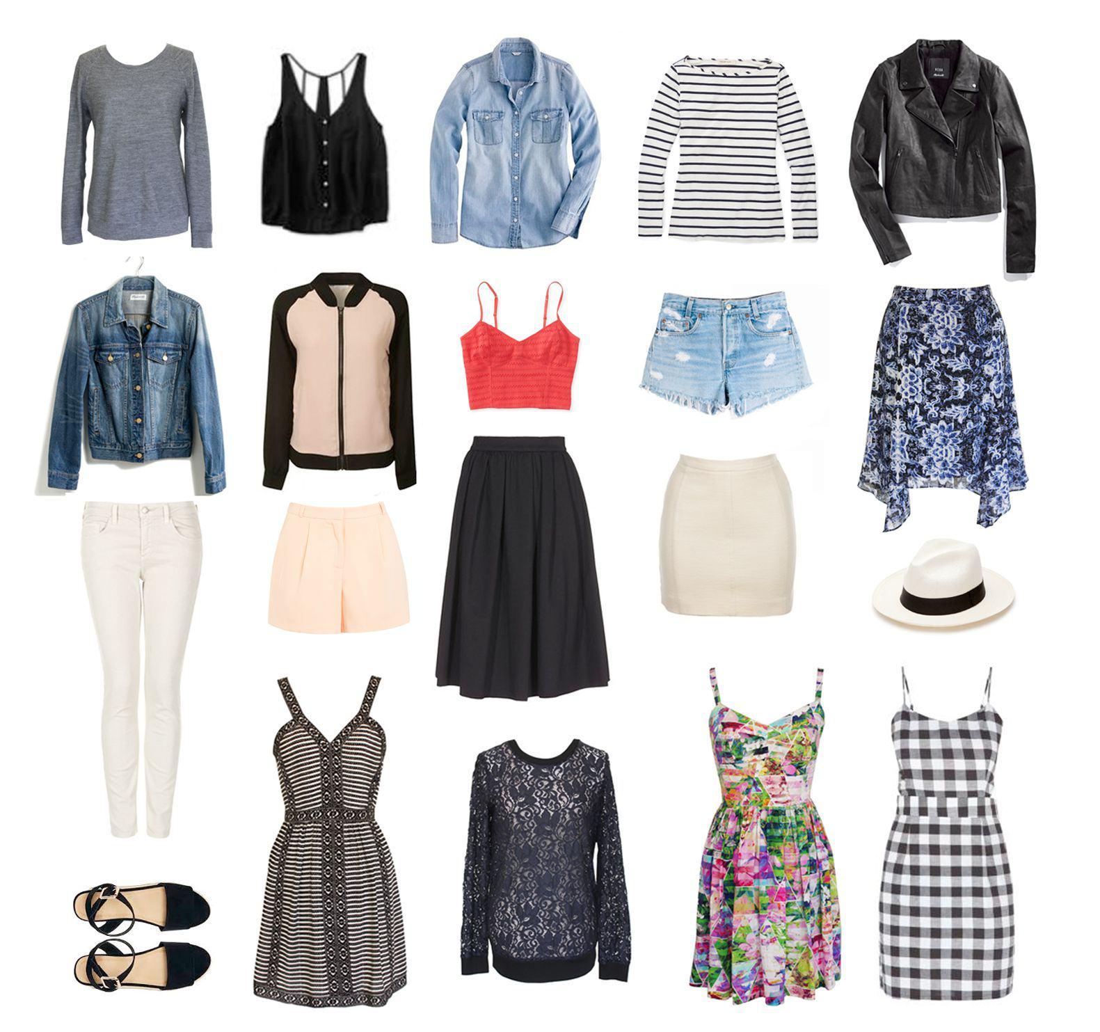 Летний гардероб 2015