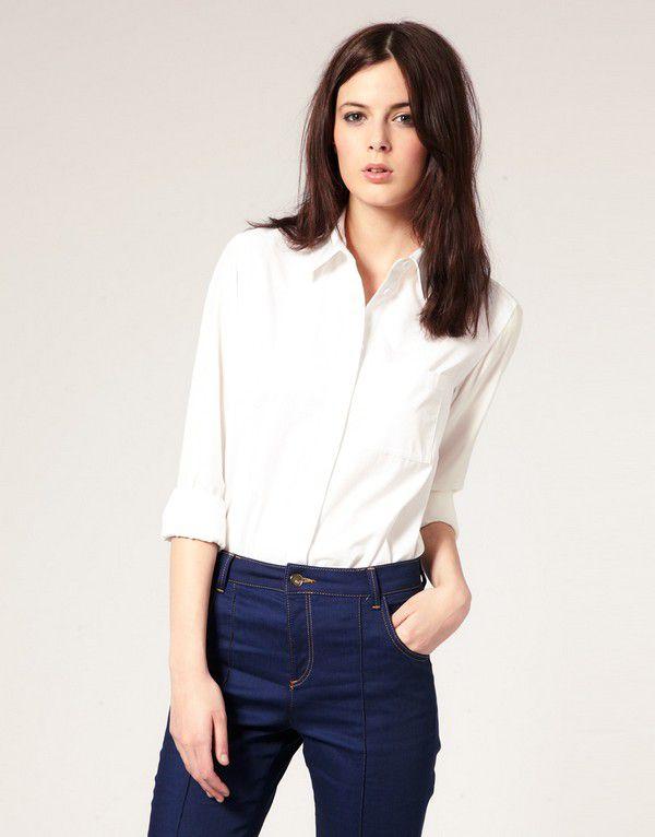 Как использовать мужские рубашки в женском гардеробе