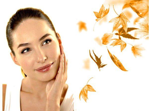 Уход за кожей лица осенью