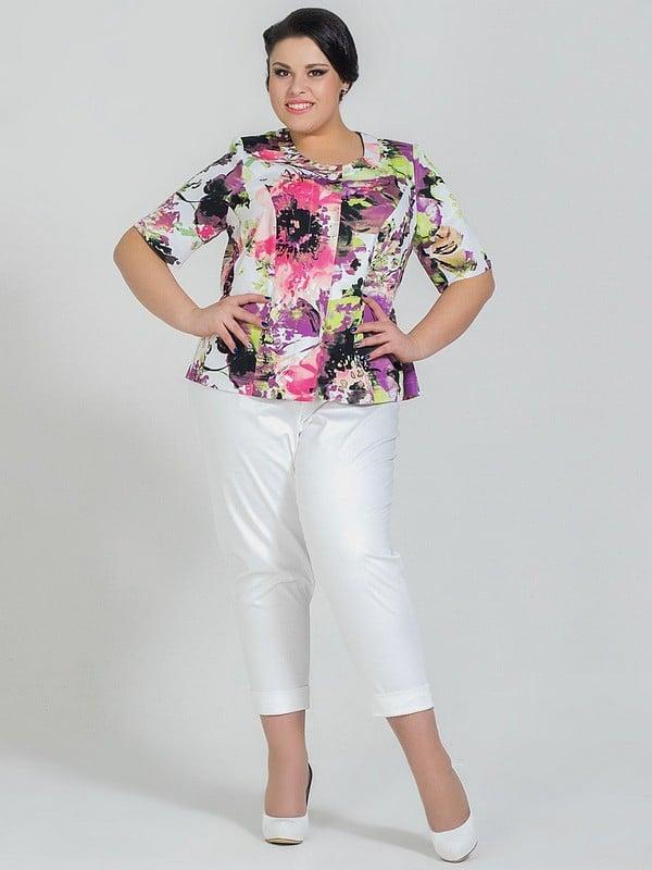 Мода для полных женщин 50 лет