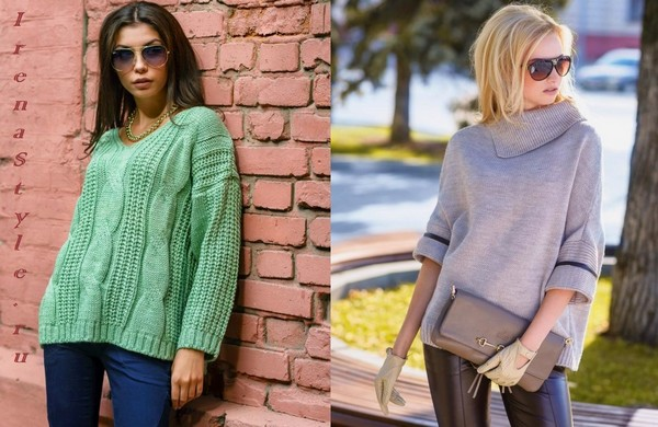 Зимние свитера женские 2016