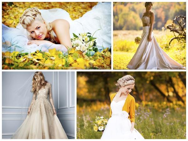 Что надеть на свадьбу осенью