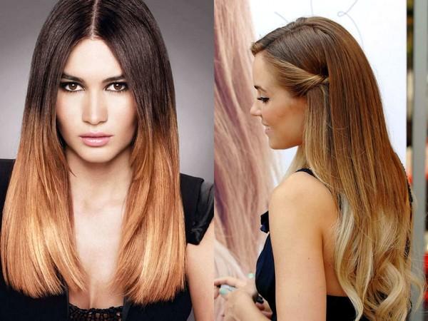 Колорирование волос 2016