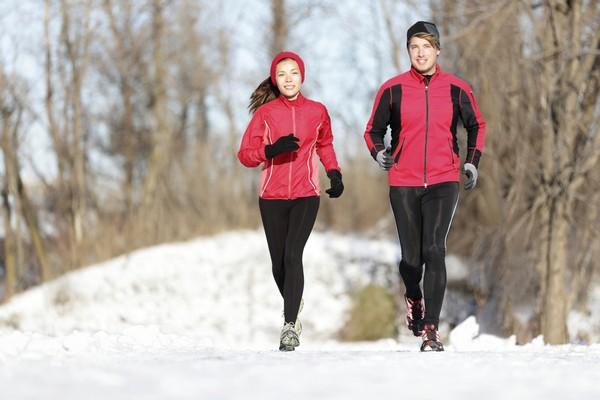 Как одеваться для бега зимой
