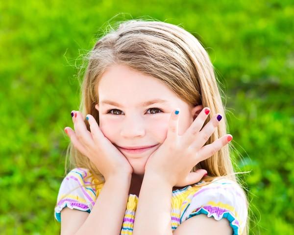 Маникюр на детские ногти