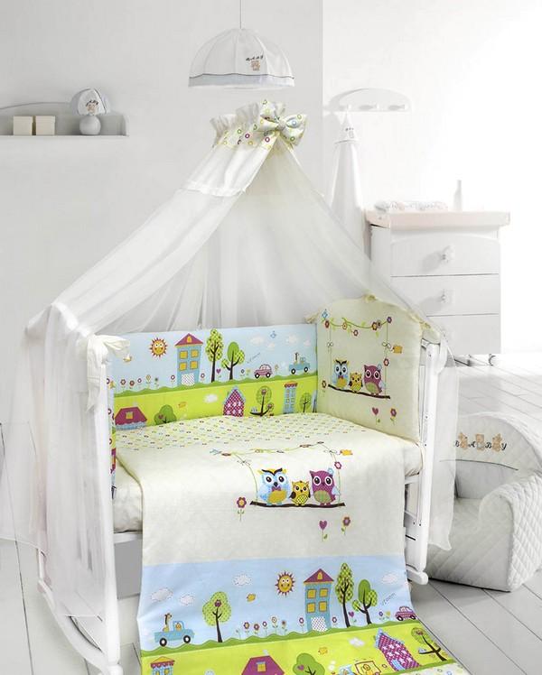 Комплекты детского белья в кроватку для малыша