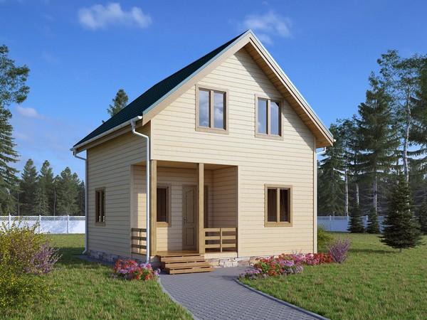 Как правильно обшить дом деревянной вагонкой