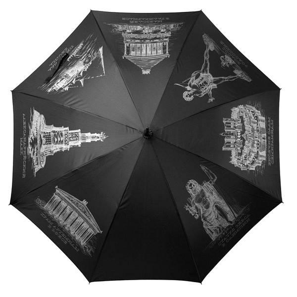Мужской зонтик с логотипом