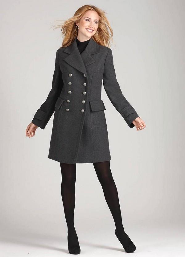Женское кашемировое пальто 2018