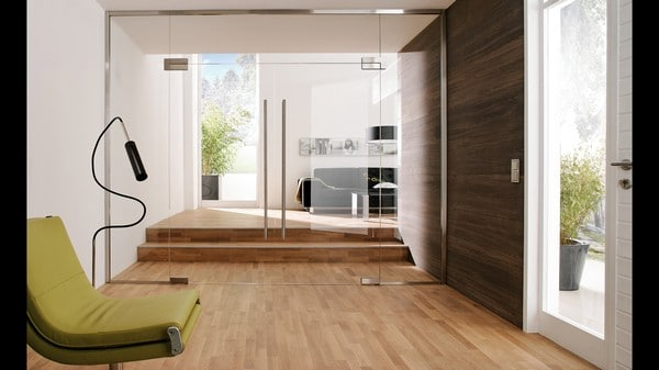 Оживляем интерьер с помощью стеклянных дверей