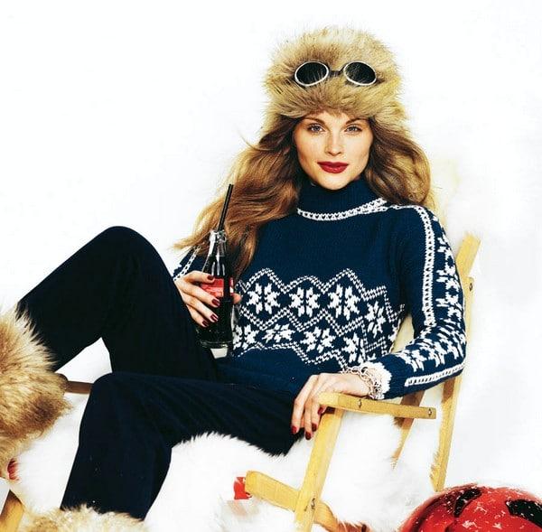 Современные модели скандинавских свитеров