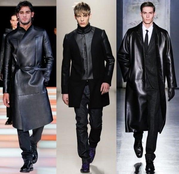 Обзор цен на мужские кожаные плащи